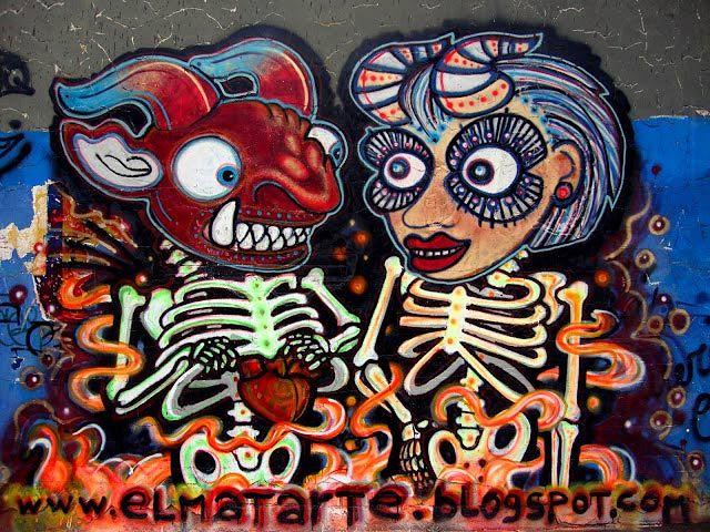 Graffiti Diablada  Arte urbano Bolivia  Pinterest