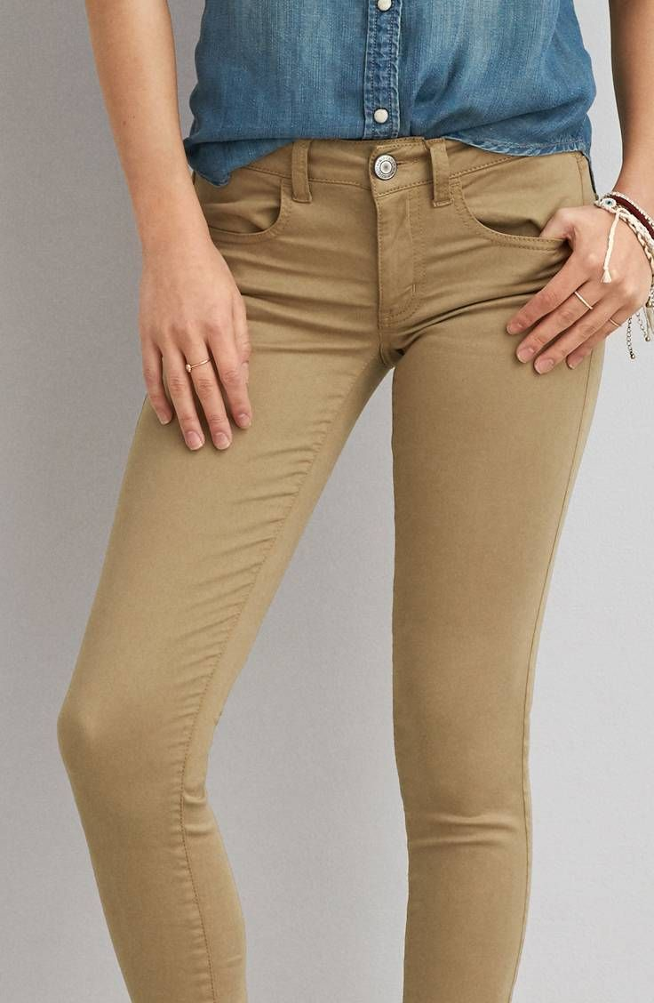 9fa62bc60145e AEO Sateen X Jegging by American Eagle Outfitters | Low twist yarn enhances  the natural softness of our Extreme Jegging in AEO Sateen X. Innovative  stretch ...