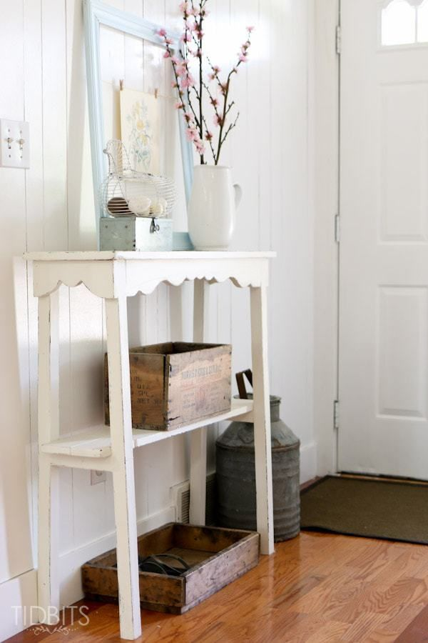 Slim Entry Table Building Plans | Entry Tables, Seasonal Decor And Building