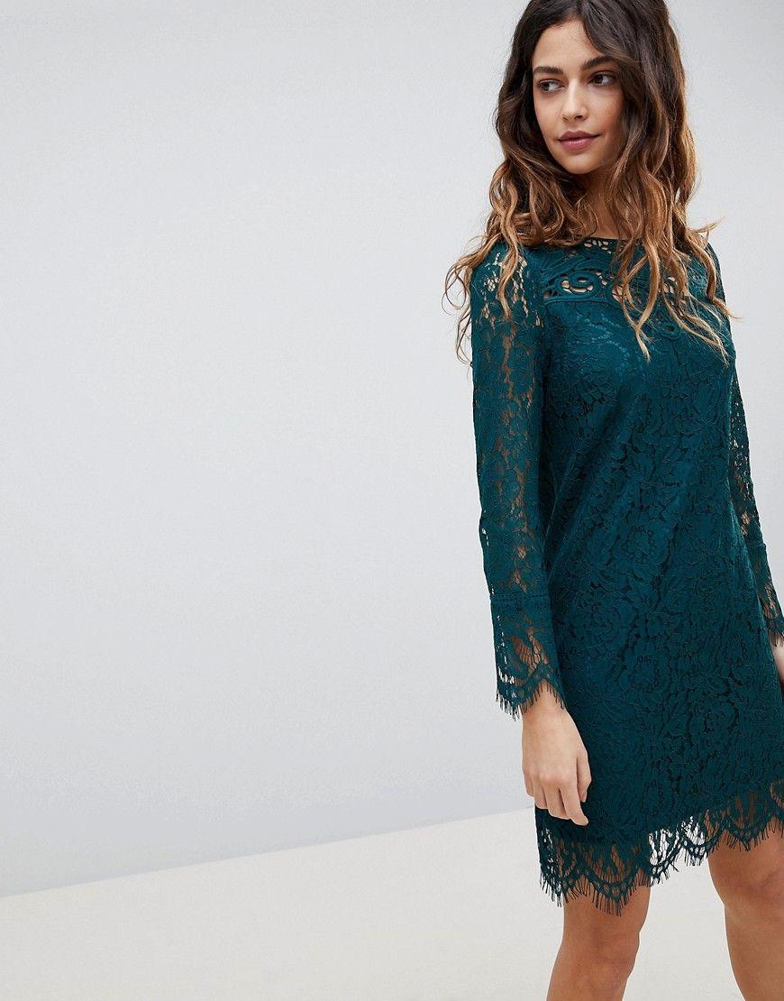 Oasis Etuikleid Mit Spitze Grun Jetzt Bestellen Unter Https Mode Ladendirekt De Damen Bekleidung Kleider Etuikleider Uid Etuikleid Grunes Kleid Kleider