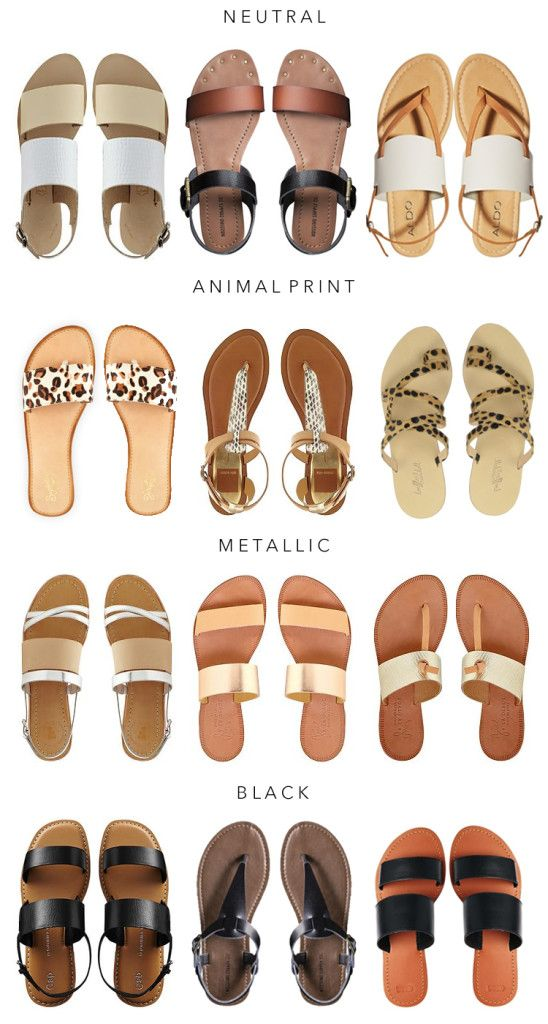 The Best Summer Sandals I Cave Girl in the City is part of Sandals -