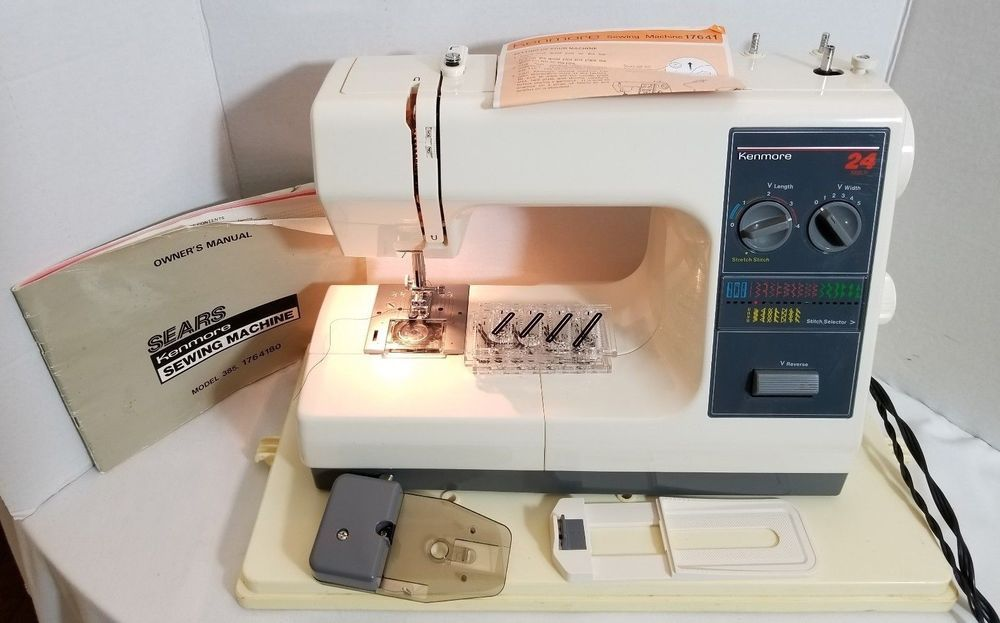 Kenmore 40 40 stitch portable sewing machine 40 sears with Fascinating Kenmore Sewing Machine 385