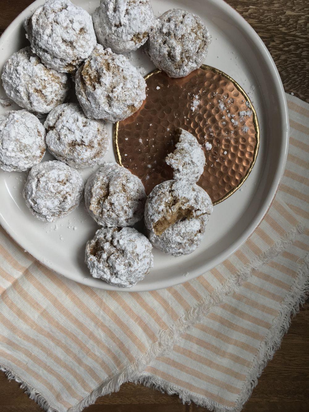 Vanilla and Brown Sugar Tea Cookies Tea cookies, Russian