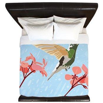 Hummingbird #3, King Duvet > King Duvets > Ornaart