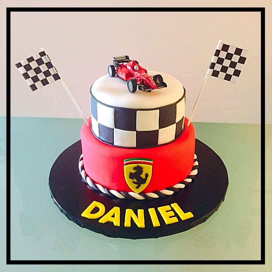 Ferrari Birthday Cake Party Lovers Pinterest Ferrari
