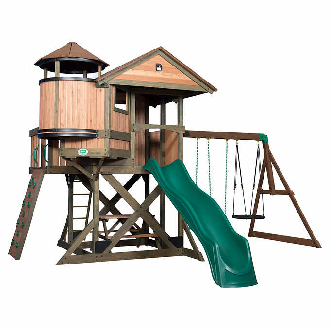 Backyard Discovery Eagle's Nest Elite Playset- Do It
