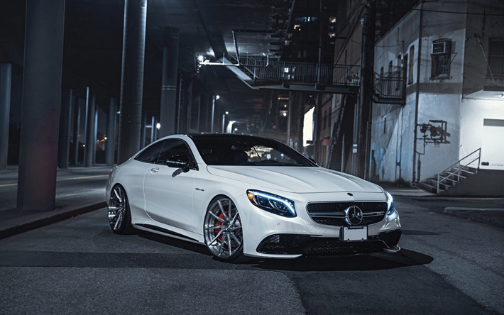Download Wallpapers Mercedes Benz S63 Amg Luxury Tuning