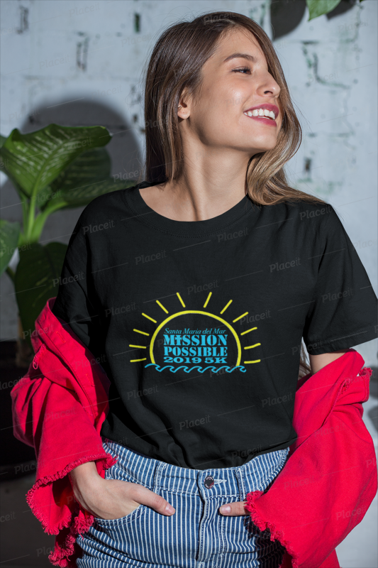 Download Unisex T Shirt Mockup Featuring A Happy Girl With A Trendy Outfit 22962 Tshirt Mockup Shirt Design Inspiration Trendy Outfits