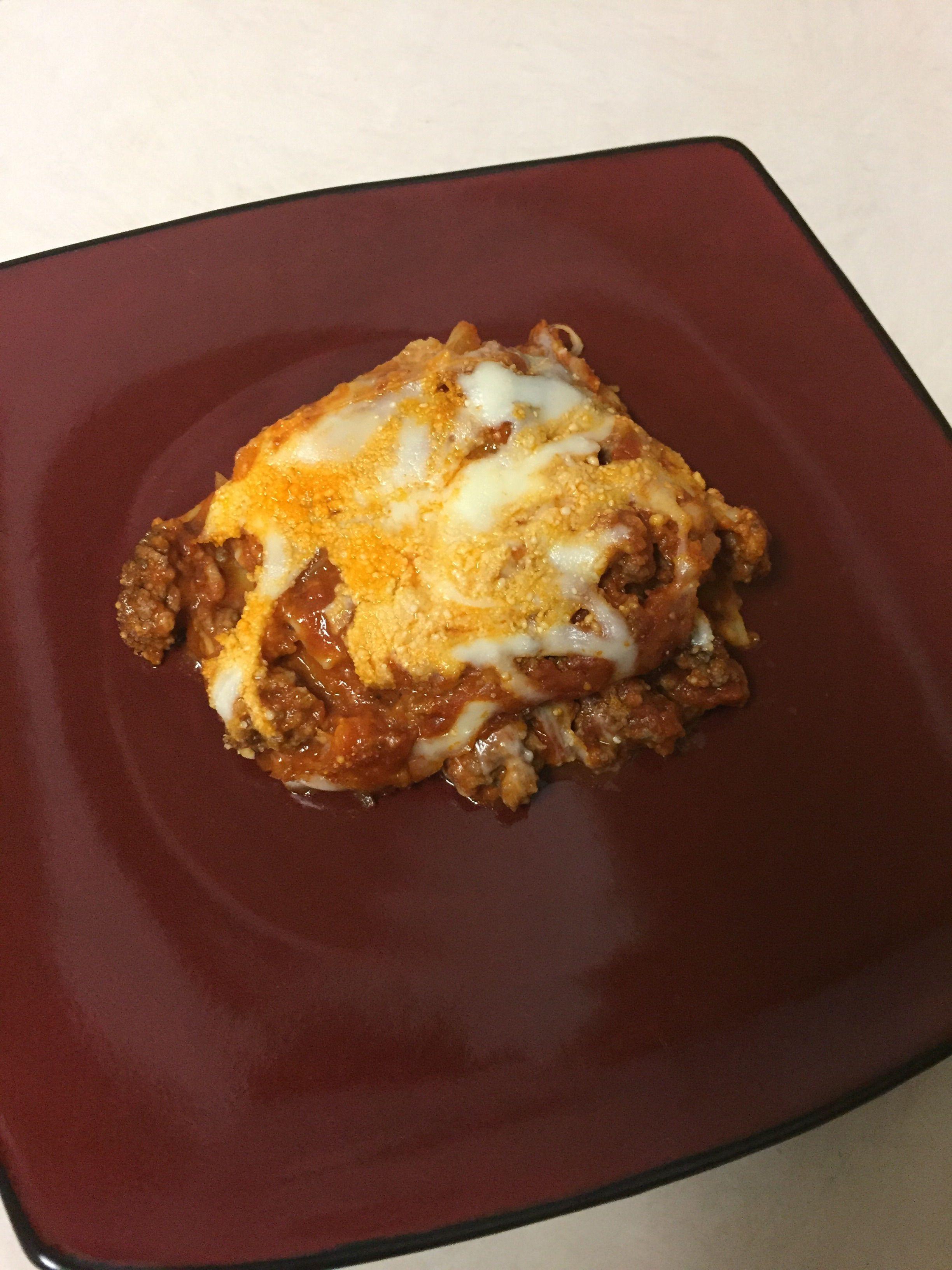 Easy Lasagna No Ricotta Recipe Food Com Recipe Easy Lasagna Lasagna Recipe Without Cottage Cheese Easy Cheese Recipes