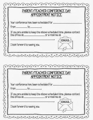 Teaching With Terhune Ready for Parent\/Teacher Conferences - parent teacher conference form