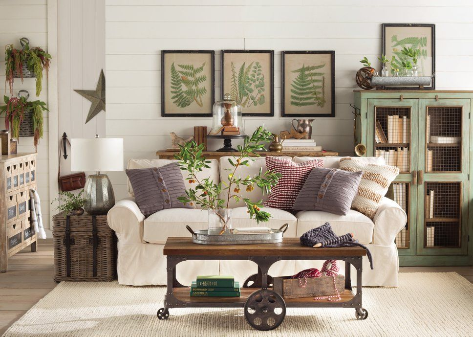 Get inspired by Rustic Living Room Design photo by Birch Lane. Wayfair lets you find the d ...