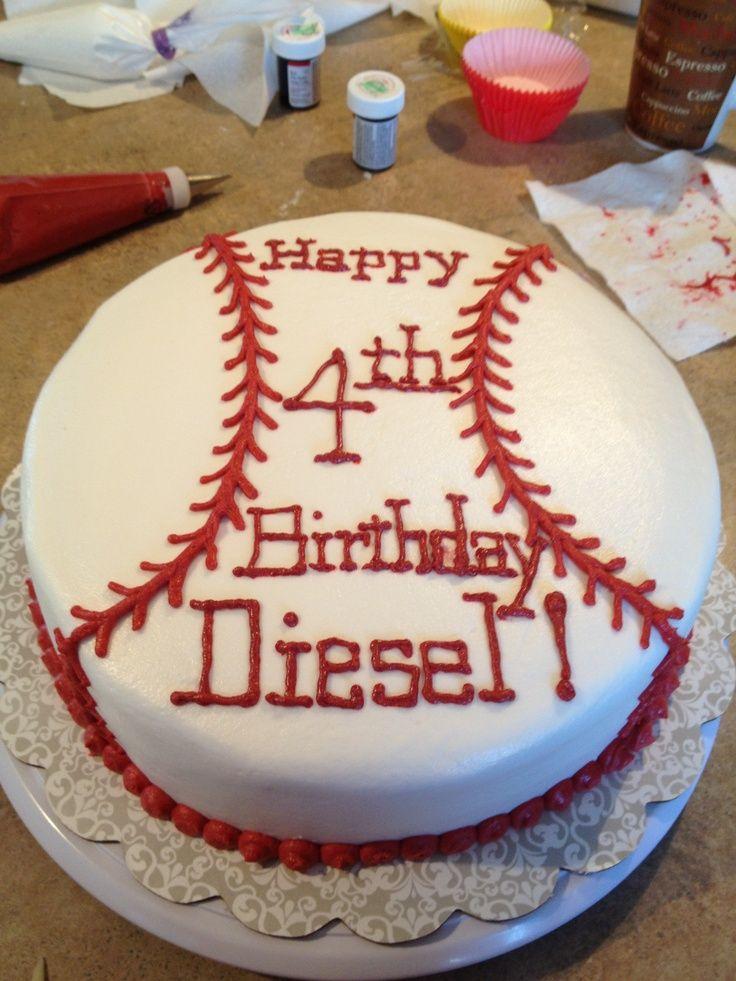 Pinterest Baseball Party Ideas Baseball Birthday Cakes On