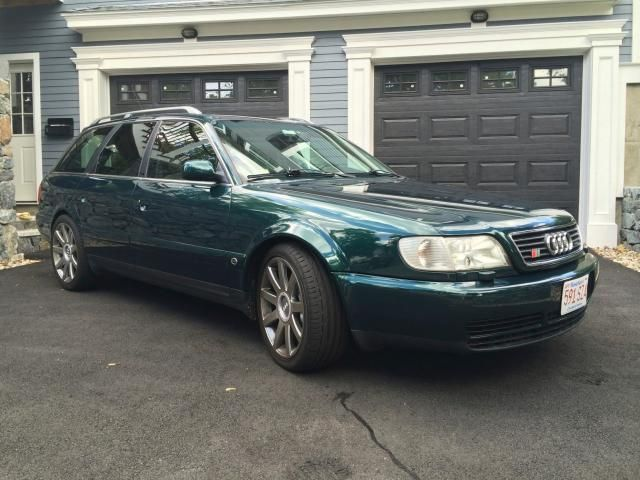 Dial S For Speed 1995 Audi S6 Avant German Cars For Sale Blog