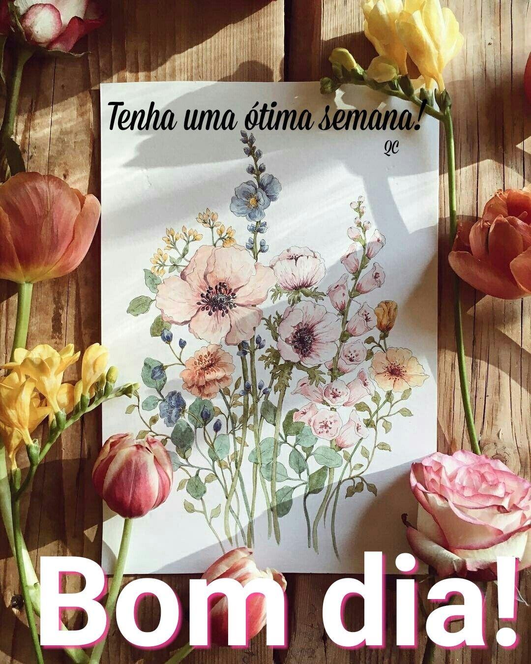 Bom Dia Com Imagens Mensagem De Feliz Semana Sms De Bom Dia