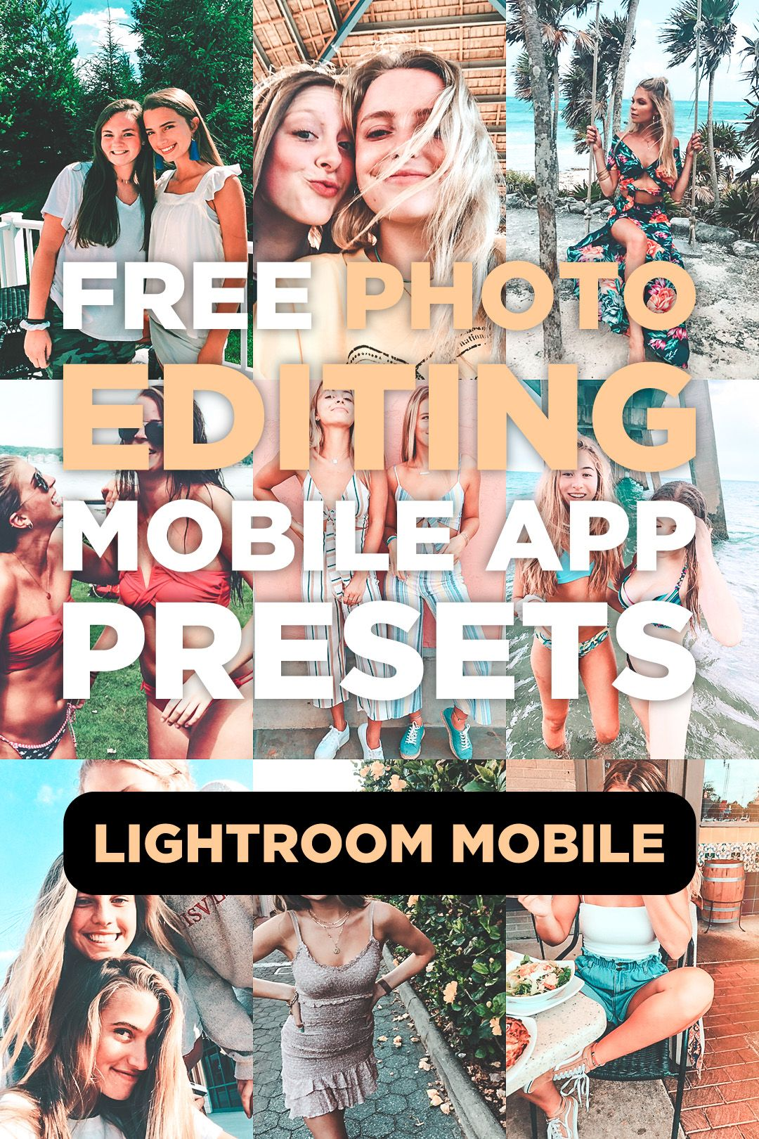 7 mobile lightroom presets bondi photo editing apps