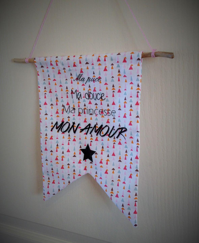 Nouveaut un joli fanion drapeau d co chambre d 39 enfant d coration pour enfants par - Fanion deco chambre ...