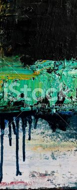 Abstract black and green arts backgrounds. Royalty Free Stock Photo