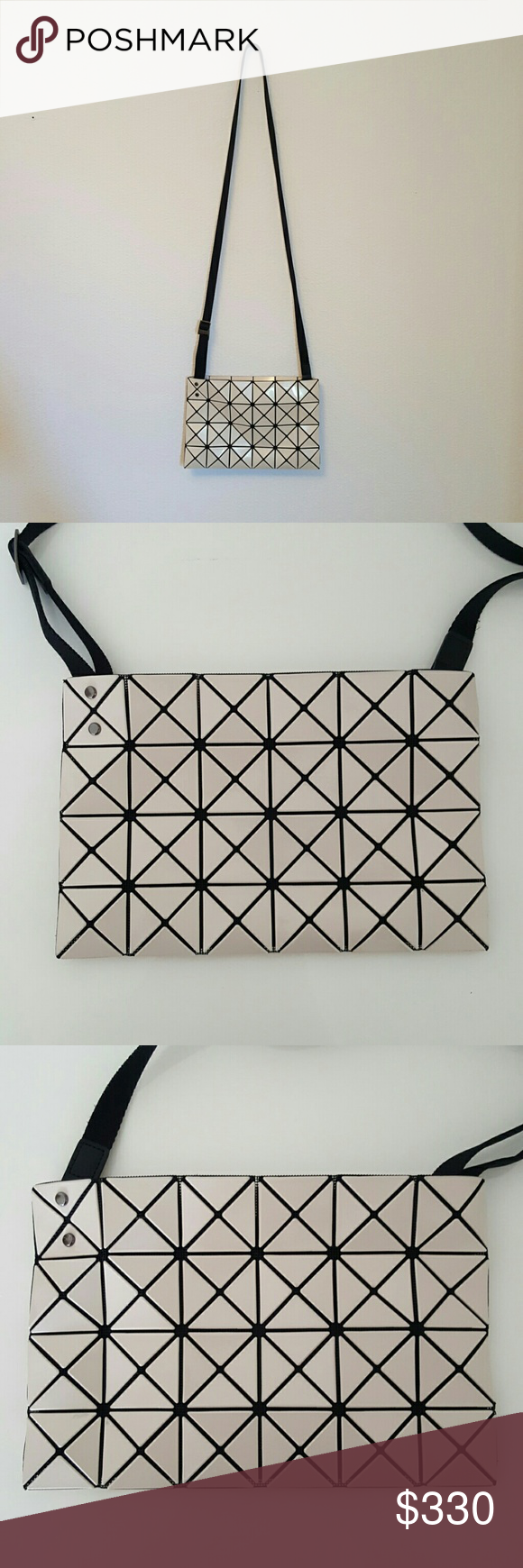 Selling this ISSEY MIYAKE BAO BAO Crossbody Bag on Poshmark! My username  is  canne12 65a55a8d6c