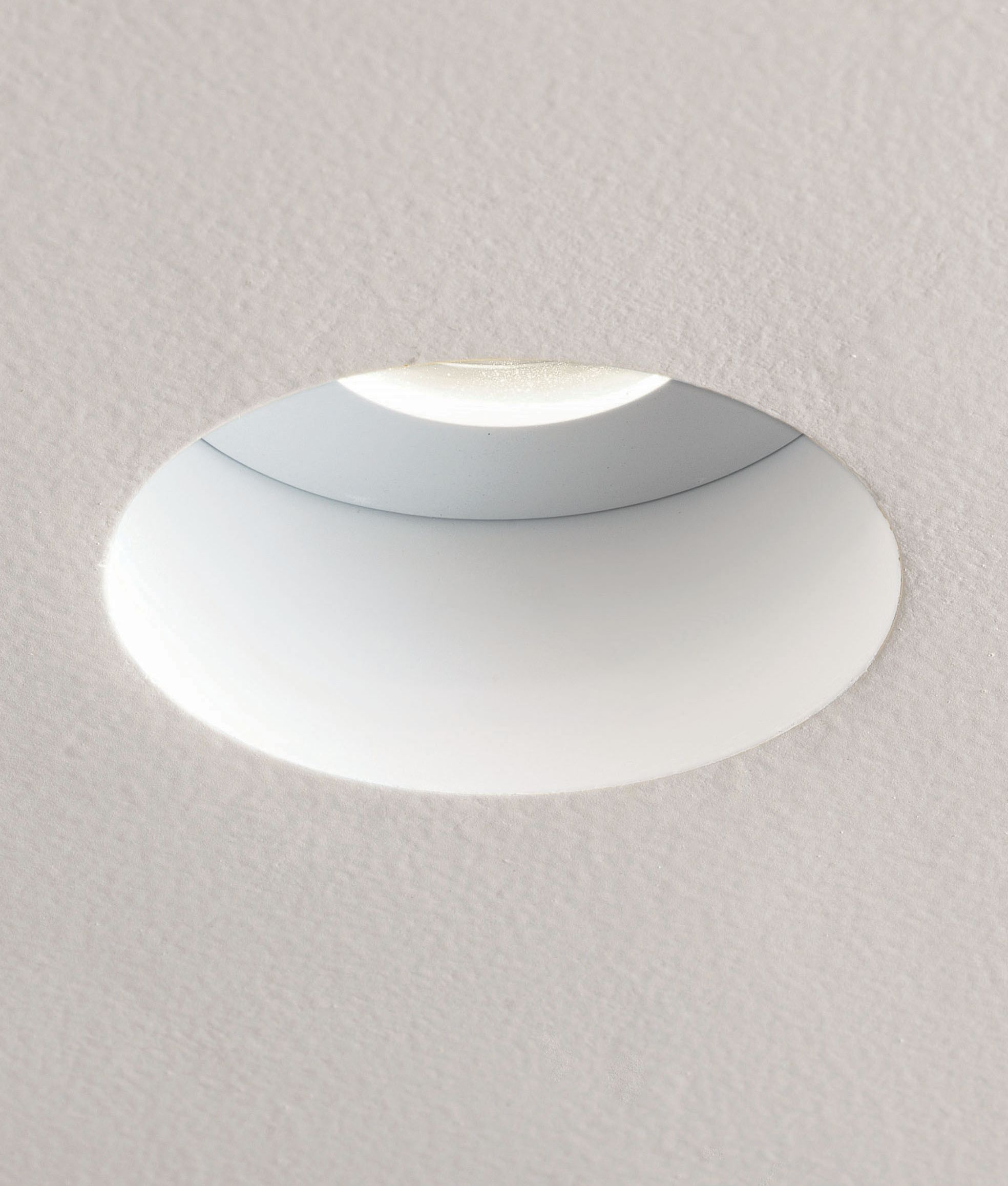 Fire Rated Hidden Recessed Downlight For Gu10 Mains Lamps Recessed Ceiling Lights Ceiling Lights Bathroom Ceiling Light