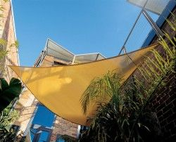 "Gale Pac 11'x10"" Triangle Shade Sail          Price: $81.53"