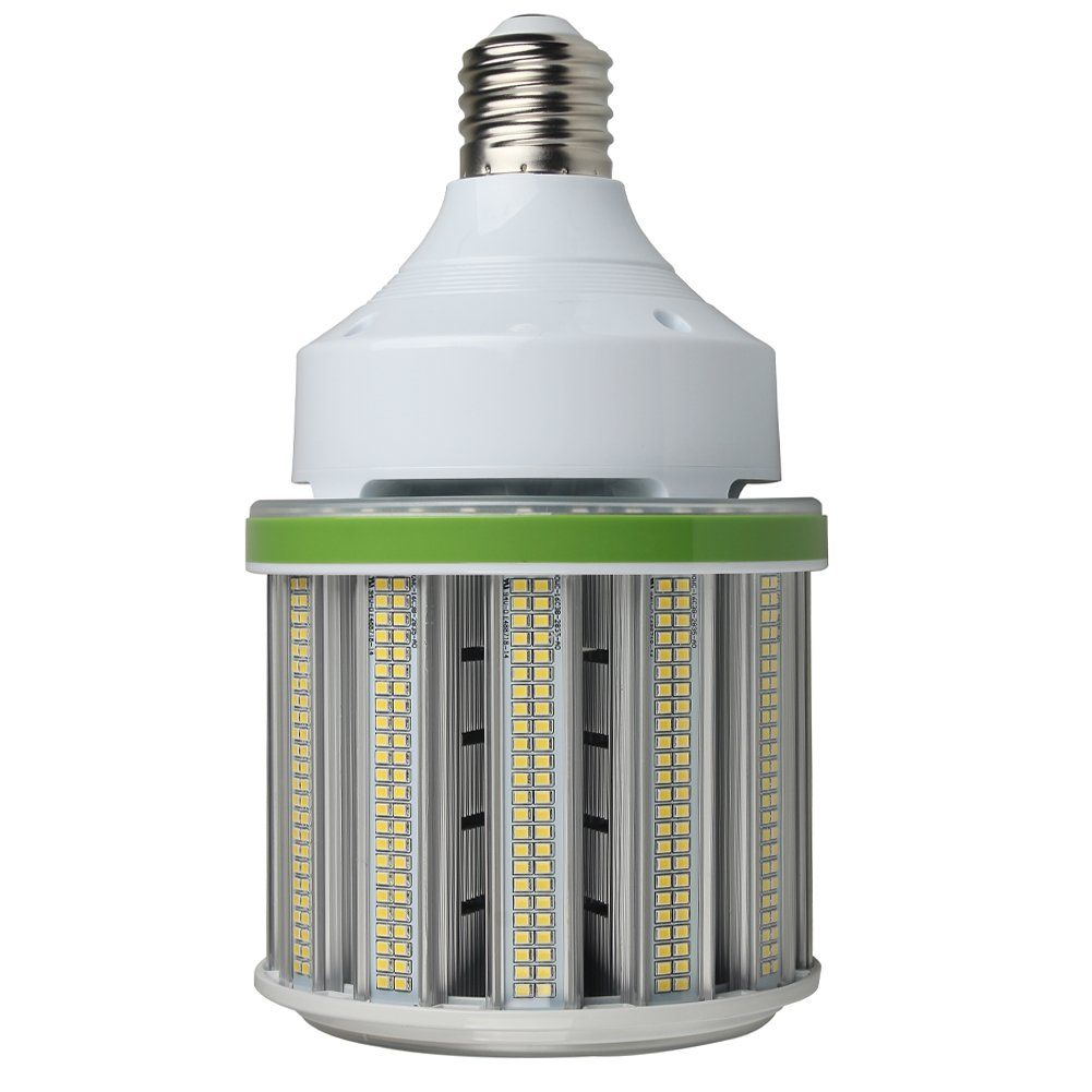 100w Led Corn Bulb 5000k Daylight Led Corn Light 13500 Lumens Replacement For 400w Mogul E39 Base Metal Halide Hid Hps Bulbs Used In Bulb Light Fixtures 5000k