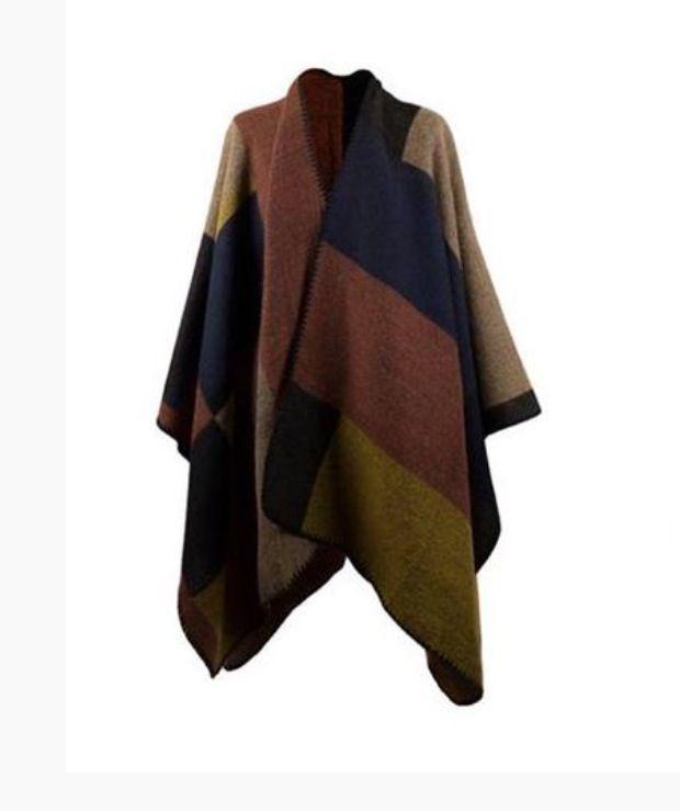 Manta-capa de Tantrend en nuestra tienda Bethesda.es. Ve al estilo de las famosas con este poncho manta.