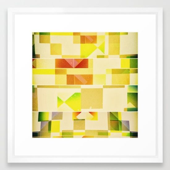 Deep Nature's Forlorn Cubic Dream Framed Art Print. Fine Art Prints | Wall Art | Great Gift Ideas