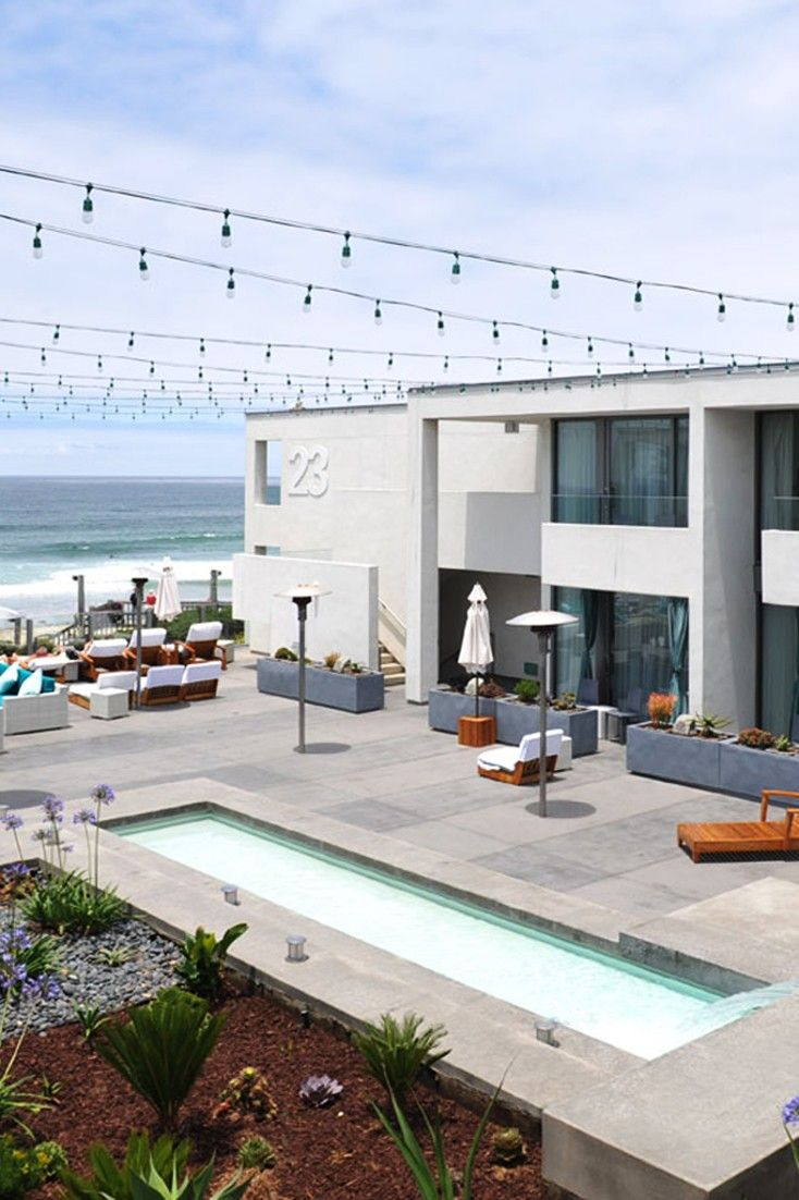 Tower 23 Is A Hip Waterfront Hotel In San Go Right At The Edge Of Pacific Beach Jetsetter