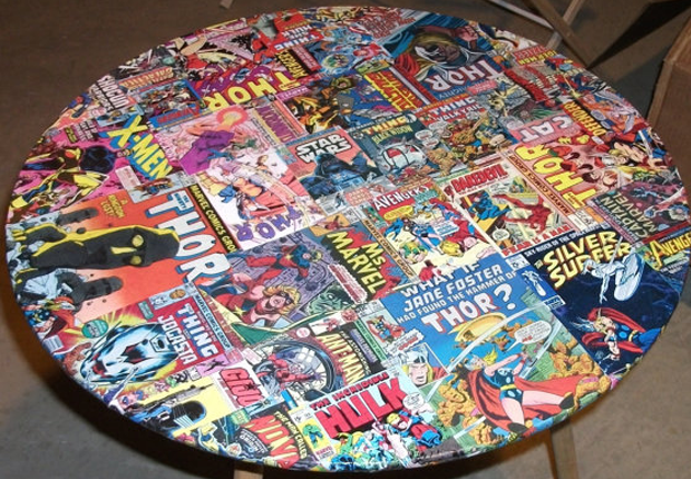 comic book furniture. 15 Pieces Of Furniture Made Out Books Comic Book K