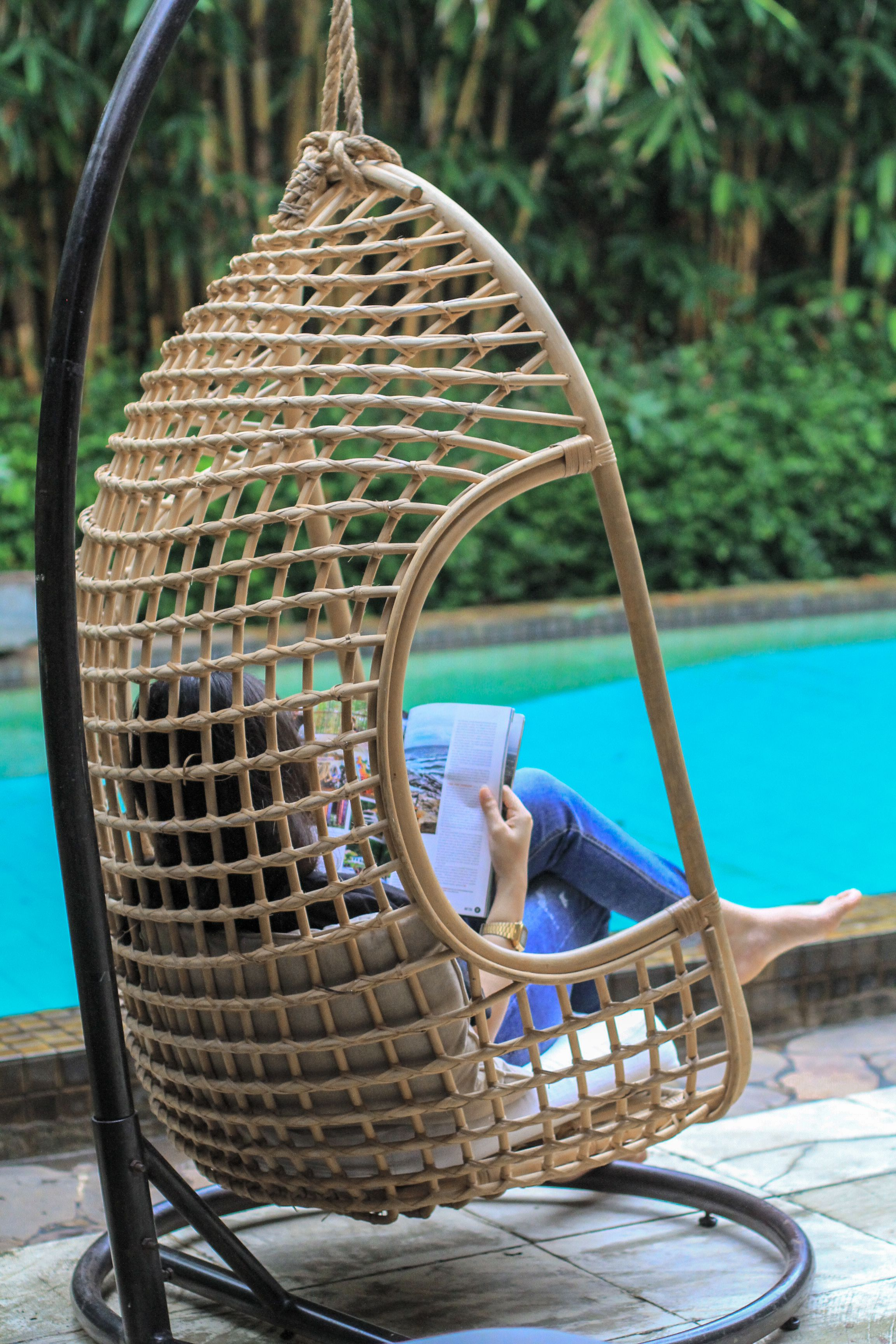 Relaxing on a lazy late afternoon. #elementsconcept #natural #handcrafted #interior #handmade #rattan #wicker #furniture #interiordesign