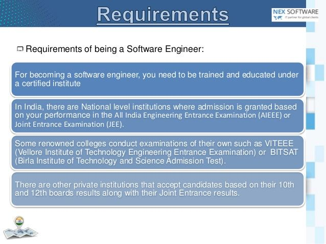 The title software engineer is a broad concept. There are various ...