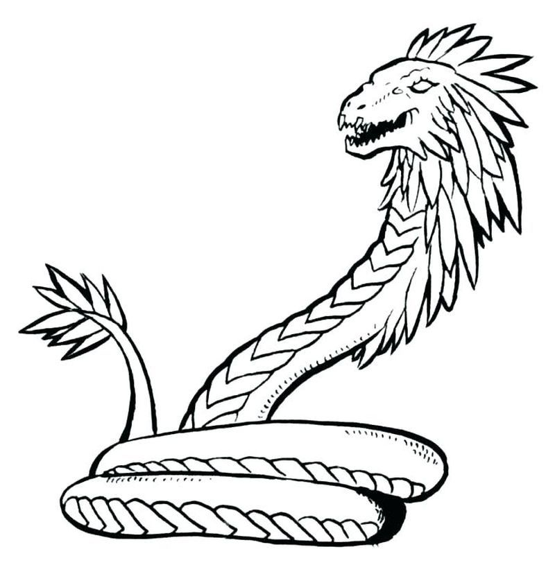 Enjoy These Snake Coloring Pages To Increase Your Kids Coloring