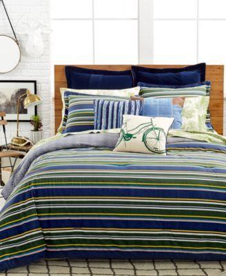 Tommy Hilfiger Princeton Stripe Comforter Sets