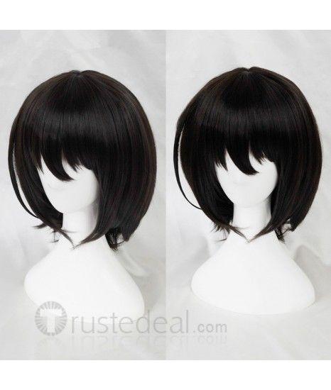 Another Misaki Mei Short Black Cosplay Wig Cosplay Wigs Wigs Kawaii Hairstyles