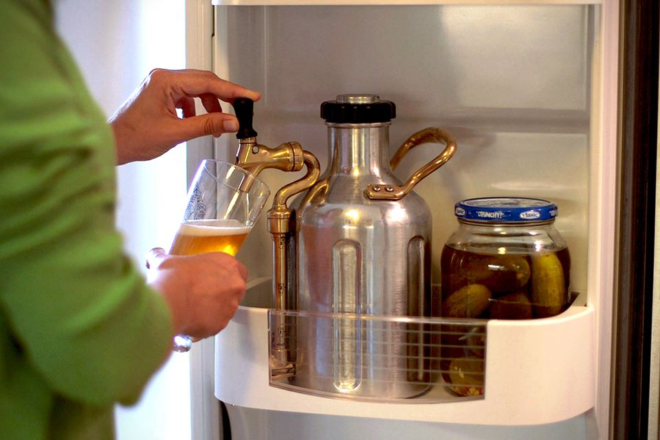 how to make nitro cold brew with sweet cream at home