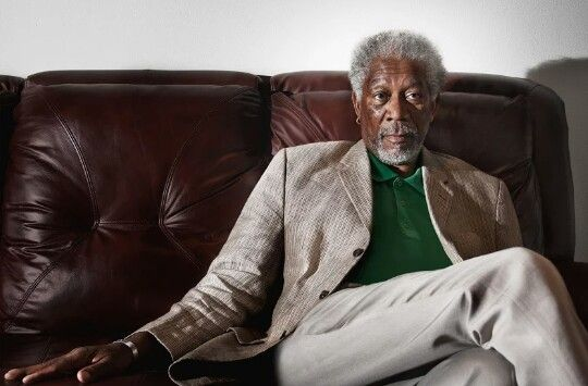 Morgan Freeman. Sin palabras....