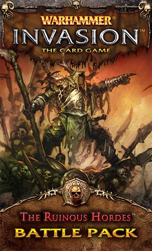 The Ruinous Hordes (expansion) 7.9 BGG rating.
