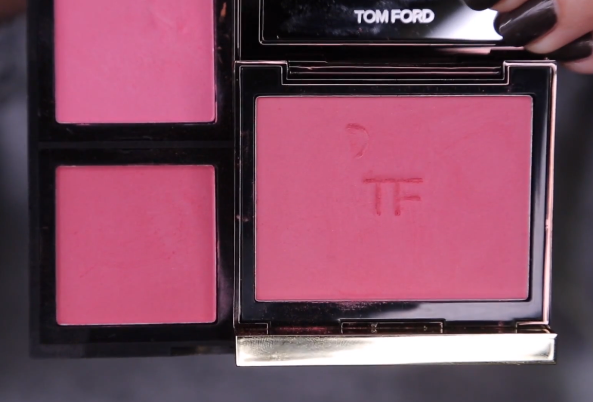 a FIVE DOLLAR blush dupe for a $60 dollar TOM FORD blush in Wicked