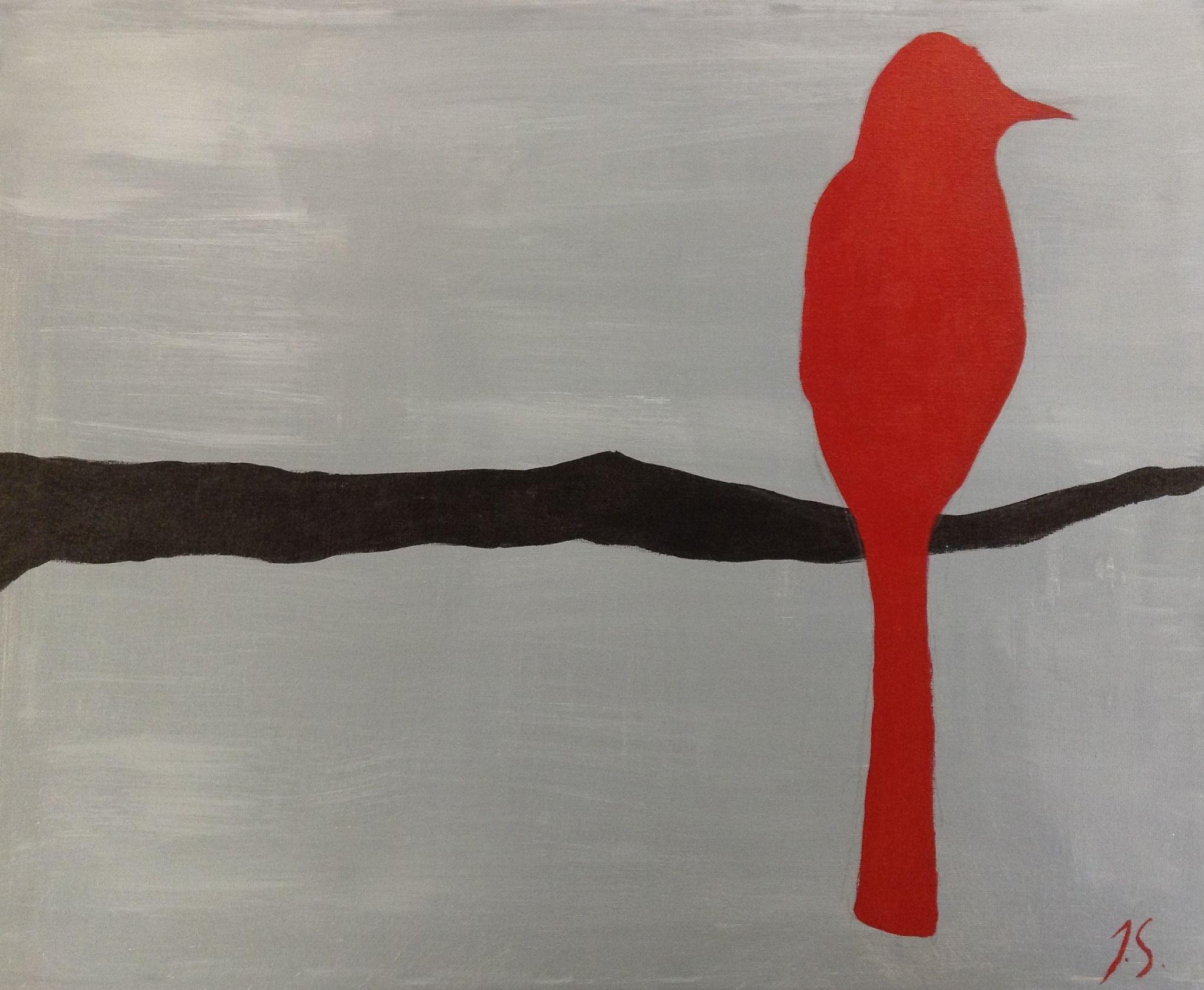Acrylic bird. Made this for a graduation present.