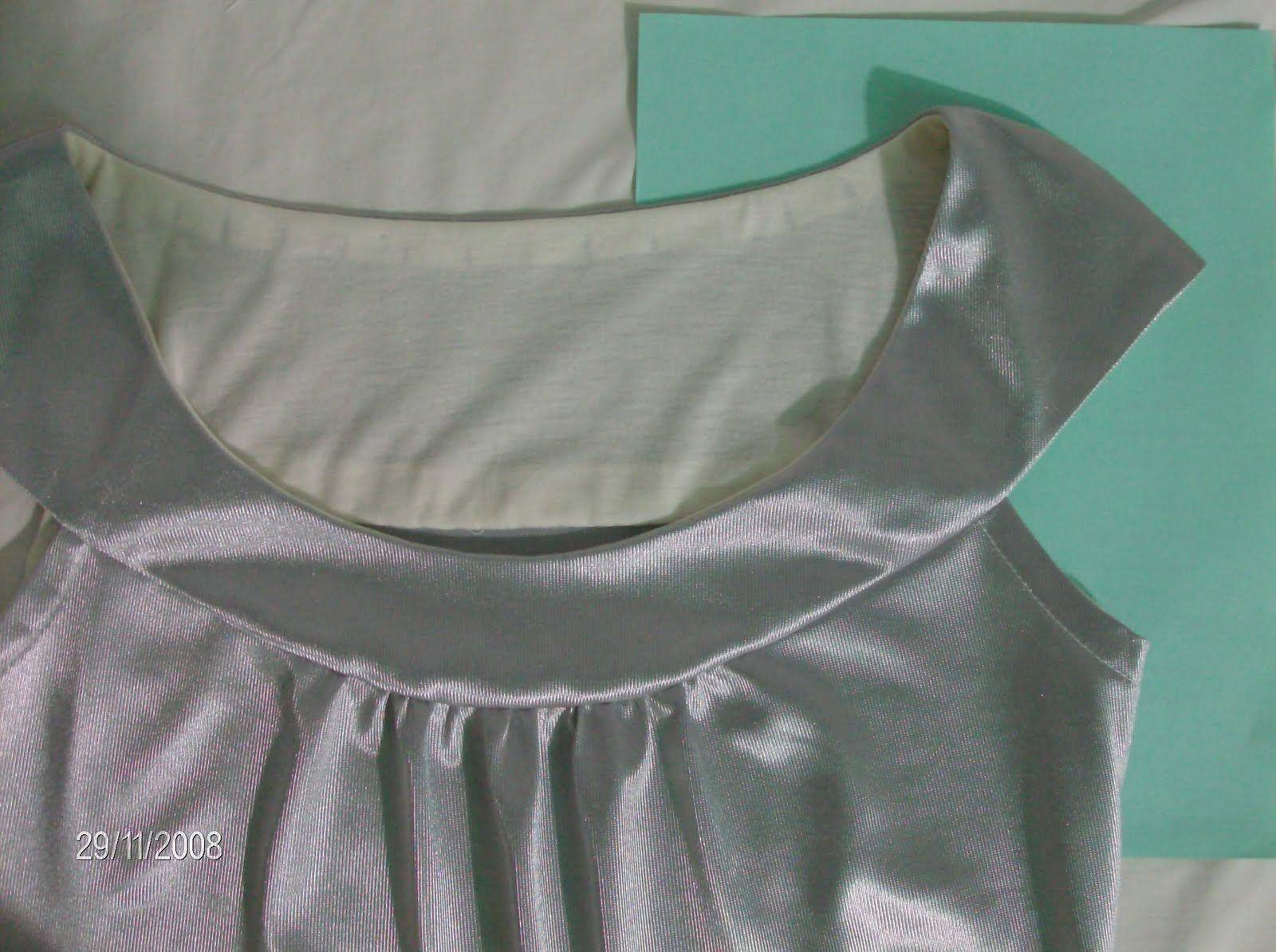 Confección de Blusa o Musculosa con espalda Buche