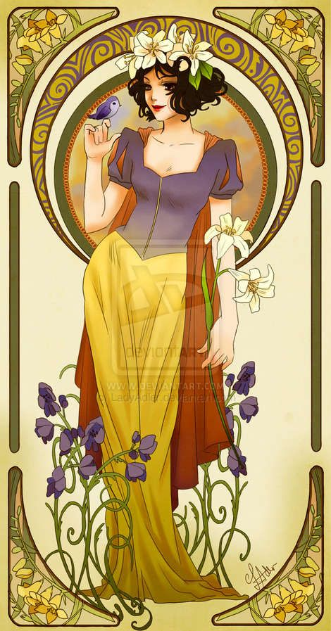 Snow White: 28 Re-Imagined Disney Characters - From Hipster Princess Depictions to Sci-Fi Royal Cartoons (TOPLIST)