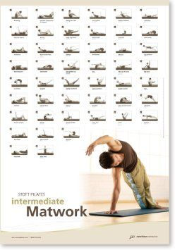 Ausdauertraining Stott Pilates Wall Chart Intermediate Reformer