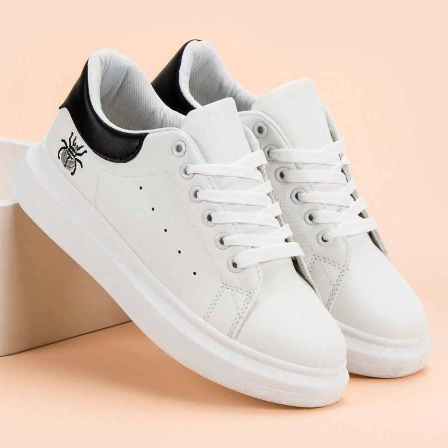 Kylie Modne Buty Sportowe Biale Shoes White Sneaker Sneakers