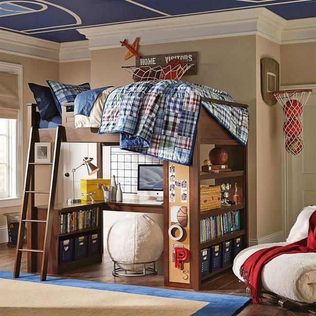 dormitorios geniales para chicos con literas y sin ellas teen rooms for