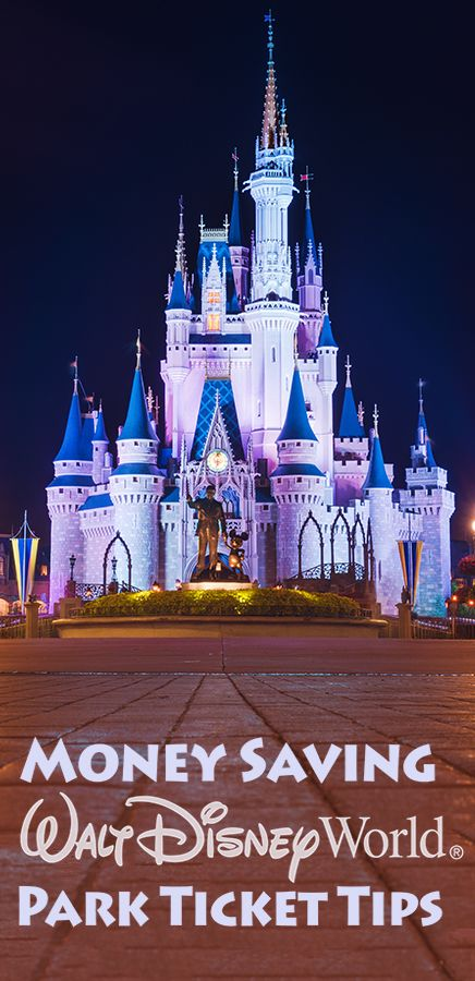2018 discount disney world ticket tips pinterest walt disney everything you need to know about walt disney world park tickets including how to save money on them publicscrutiny Image collections