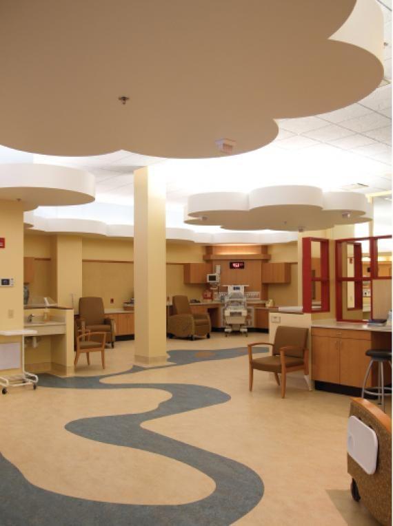 Patient Room Design: Women's Healthcare By The Bay