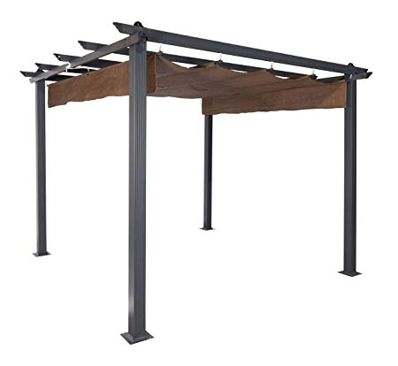 Grand Patio 10x13 Feet Patio Gazebo Outdoor Canopy With Mosquito Netting And Shade Aluminum Pergola Pergola Outdoor Pergola