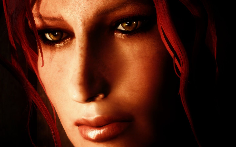 Women of Skyrim female face texture and COMPANIONS | Skyrim
