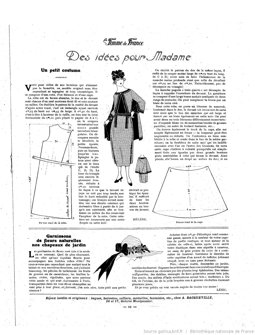 Les Modes de la femme de France | 1920 | Pinterest | Moda vintage ...