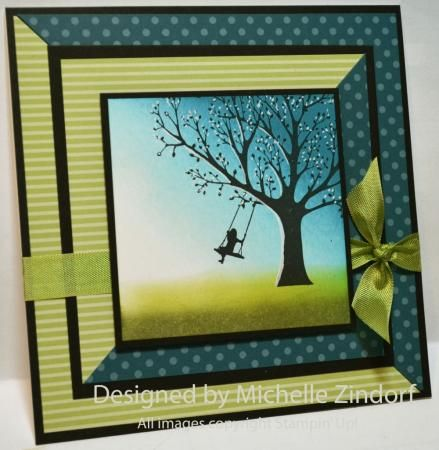 Just Swinging Tutorial 574 Greeting Cards Handmade Cards Handmade Paper Cards